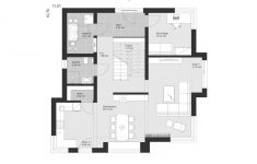 House Plans With 2 Living Rooms New House Architecture Design Villa Floor Plans Modern