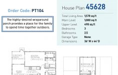 House Plans With Screened Porch New Farmhouse Style House Plan With 3 Bed 3 Bath