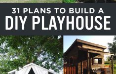 How To Make House Plans For Free Luxury 31 Free Diy Playhouse Plans To Build For Your Kids Secret