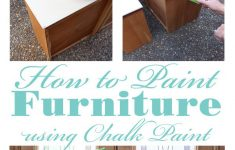 How To Paint Wooden Furniture Antique White Awesome How To Chalk Paint Furniture A Step By Step Guide