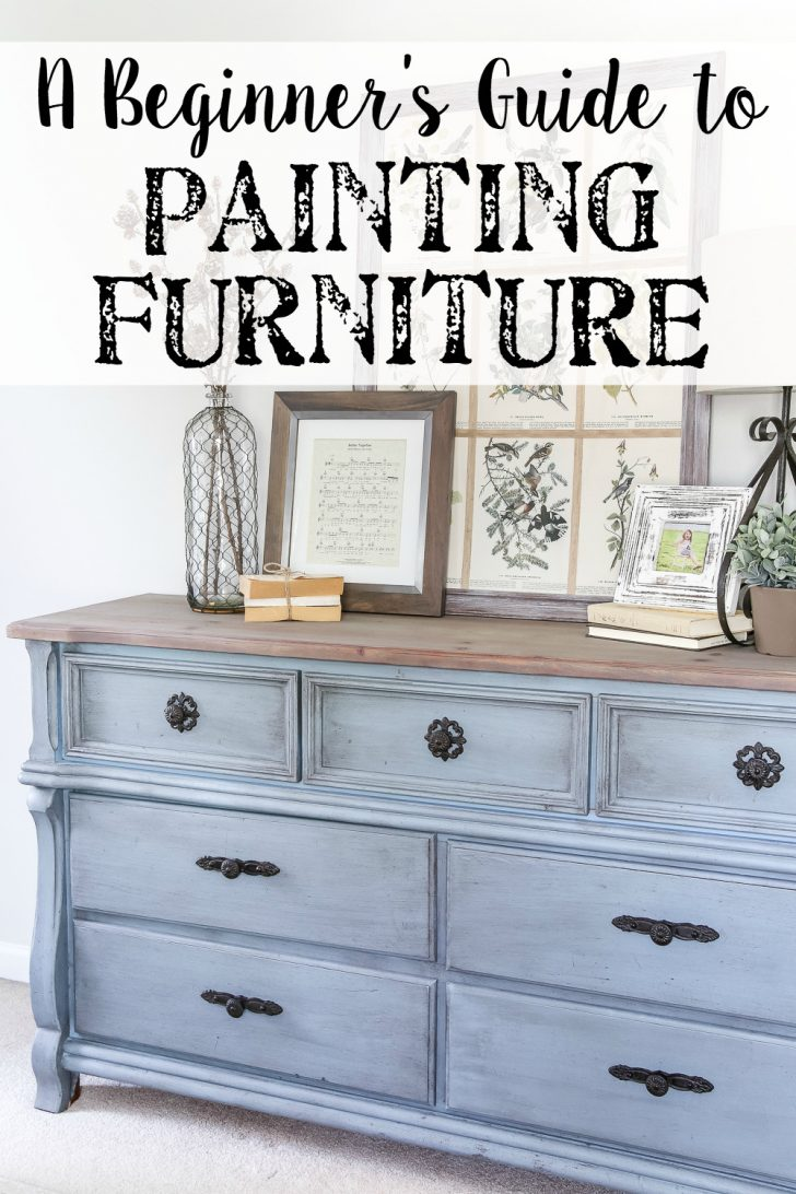 How to Paint Wooden Furniture Antique White 2020