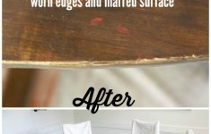 How To Refinish Antique Furniture Without Stripping New How To Refinish A Table Without Sanding & Stripping