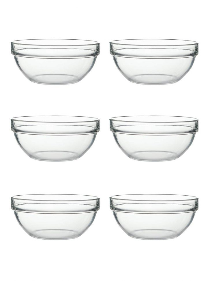Large Clear Glass Mixing Bowl 2021