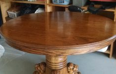 Lion Head Furniture Antique Unique Antique Oak Round Table With Lion Head And Claw Foot For