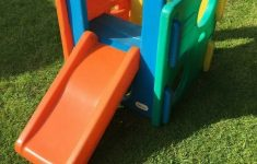 Little Tikes Hard Plastic Kiddie Pool With Slide Lovely Little Tikes Cube Slide Like New Can Deliver For A Small Charge In Sheffield South Yorkshire
