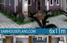 Low Budget House Design Best Of Low Bud Home Plan 6x11 Meter 3 Bedrooms Sam House Plans