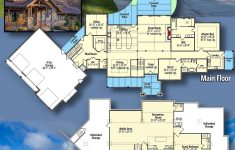Luxury Mountain House Plans Fresh Plan Rw Luxurious Mountain Ranch Home Plan With Lower