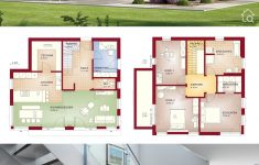 Modern Contemporary House Design With Floor Plan Beautiful Two Floor House Plans With 4 Bedroom Modern Contemporary