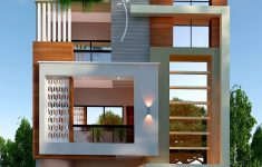 Modern Front Elevation Home Design Awesome Own House Home Elevation In 2019