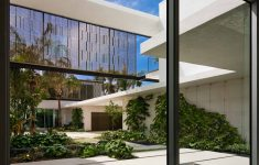 Modern Glass House Plans Pool Fresh This Home In Miami Was Designed With A Slide To The Pool