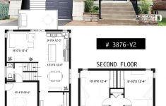Modern Home Plans For Narrow Lots Inspirational House Plan Winslet 3 No 3876 V2
