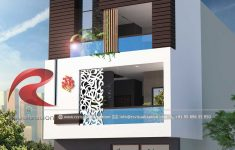 Modern House Designs Pictures Gallery Awesome 3d Narrow House Designs Gallery