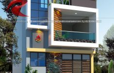 Modern House Designs Pictures Gallery Fresh 3d Narrow House Designs Gallery