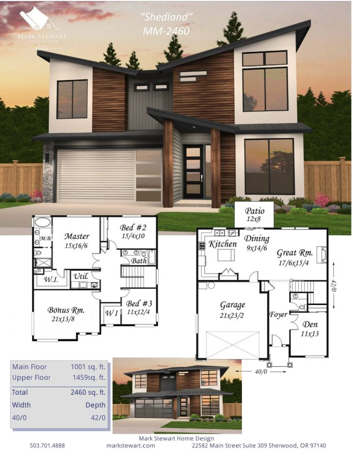 Modern House Plans and Designs 2021