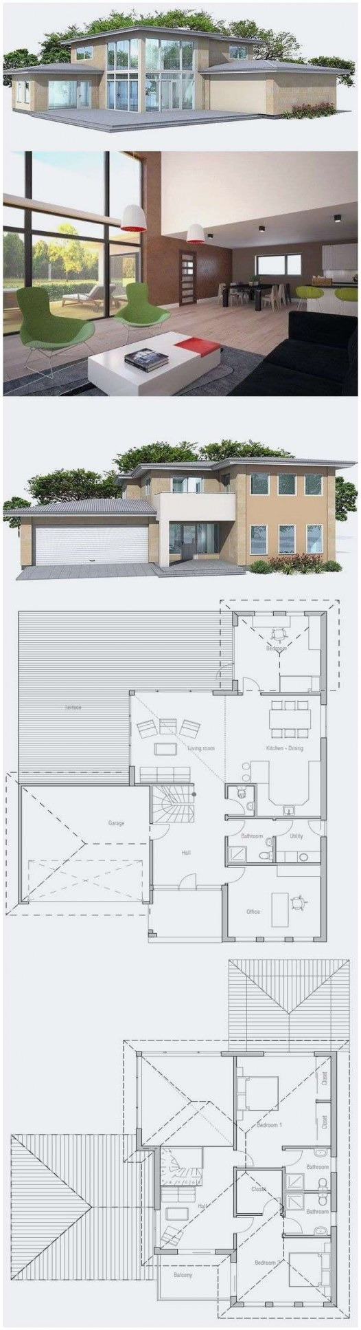 Modern House Plans for Sale 2020