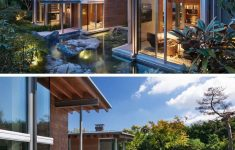 Modern Houses With Big Windows Luxury Art And Views Were Carefully Considered In The Design
