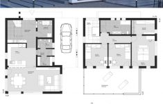 Modern Residential Architecture Floor Plans Awesome Modern Luxury Villa Bauhaus Architecture House Pla In 2020