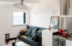 Modern Small Apartment Design Awesome Small Modern Attic Apartment With Harbour View