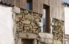 Modern Stone House Design Plans Inspirational Mix Of Modern Panelling And Rustic Stone Contrasting New And