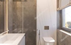 Modern Walk In Shower New 3d Render Interior Design Of The Bathroom With Glass Walk In