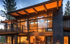 Mountain Modern House Plans Awesome Woodsy Mountain Cabin In Martis Camp Blends Modern With