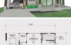 New House Plan Design Fresh Home Design Plan 11x8m With E Bedroom