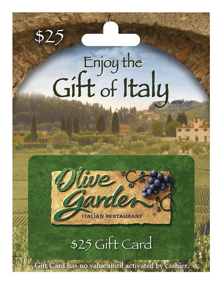 Olive Garden Gift Card Balance Lookup 2021