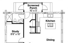 One Bedroom House Floor Plans Luxury Ranch Style House Plan With 1 Bed 1 Bath