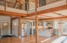 One Story Post And Beam House Plans Awesome The Overlook Is A Post And Beam Open Concept Barn Style
