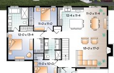 Open Floor Plans For Houses Lovely Transitional Bungalow House Plan With Open Floor Plan Large