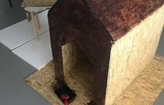 Plans For Dog House With Insulation New Insulated Dog House 7 Steps With Instructables
