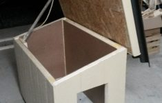 Plans For Dog House With Insulation Unique Insulated Hinged Roof For Easy Clean Out With Images