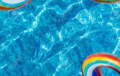 Pool Circle Float Elegant Inflatable Water Activities Circles Tuba Float On The Water In