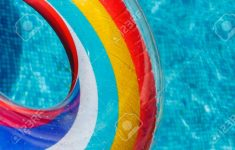 Pool Circle Float Fresh Inflatable Water Activities Circles Tuba Float On The Water In