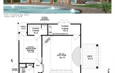 Pool House Designs Plans Luxury B1 1204 P With Images