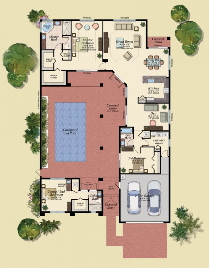 Pool House Guest House Plans 2021