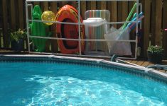Pvc Raft Holder Inspirational Pool Float Storage Project