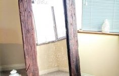 Reclaimed Full Length Mirror Unique Gorgeous Handmade Full Length Rustic Reclaimed Wood Floor Mirror