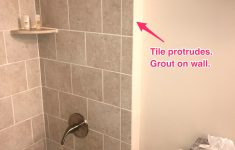 Remove Wall Tile Without Damaging Drywall New Paint Prep Where Tile Sticks Out Grout Is Smeared Wall