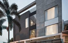 Residential Gate Designs Modern Elegant S I House By Dp Hs Architects 19