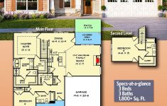 Retirement House Plans Designs Beautiful Plan Dk 3 Bed Craftsman With Bedroom Suite Upstairs