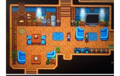 Rotate Furniture Stardew Awesome Decorated My House Each Room Has A Theme Stardewvalley