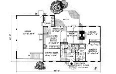Saltbox House Plans With Garage Beautiful Saltbox Style House Plan With 3 Bed 3 Bath 3 Car