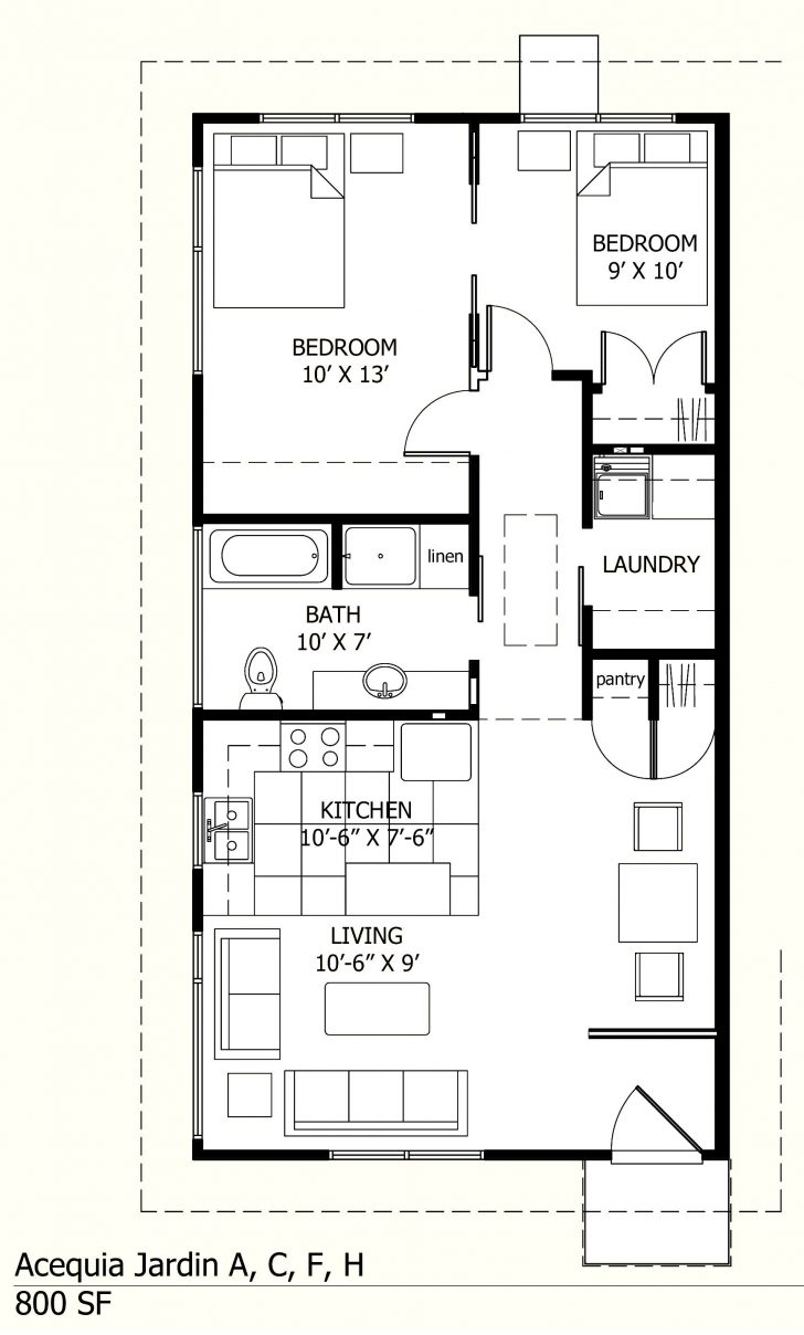 Small 3 Bedroom Home Plans 2020