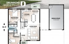 Small House Plans And Cost Beautiful 2 Large Bedrooms Small & Simple Transitional Style House