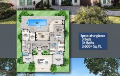 Small House Plans Florida Luxury Plan Bw Florida House Plan With Open Layout In 2020