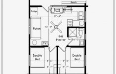 Small Two Bedroom Cabin Plans Inspirational E Bedroom Blueprints Cabin Cottage Small House 2 Bedroom