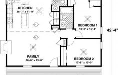 Small Two Bedroom Cabin Plans Luxury Cottage 2 Beds 1 5 Baths 954 Sq Ft Plan 56 547 Main Floor