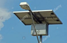 Solar Powered Mailbox Beautiful Solar Powered Street Lamp Stockfotos & Solar Powered Street