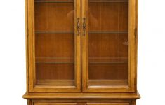 """Thomasville Antique Furniture Value Inspirational Thomasville Huntley Furniture Romano Collection Italian Neoclassical 42"""" Display China Cabinet 4921 410"""